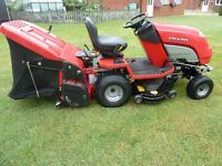 COUNTAX C600H 40 INCH DECK-- COMBI DECK, POWERED GRASS COLLECTOR ALL IN WORKING ORDER