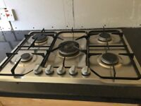 Five Ring Gas Hob with Fan Oven