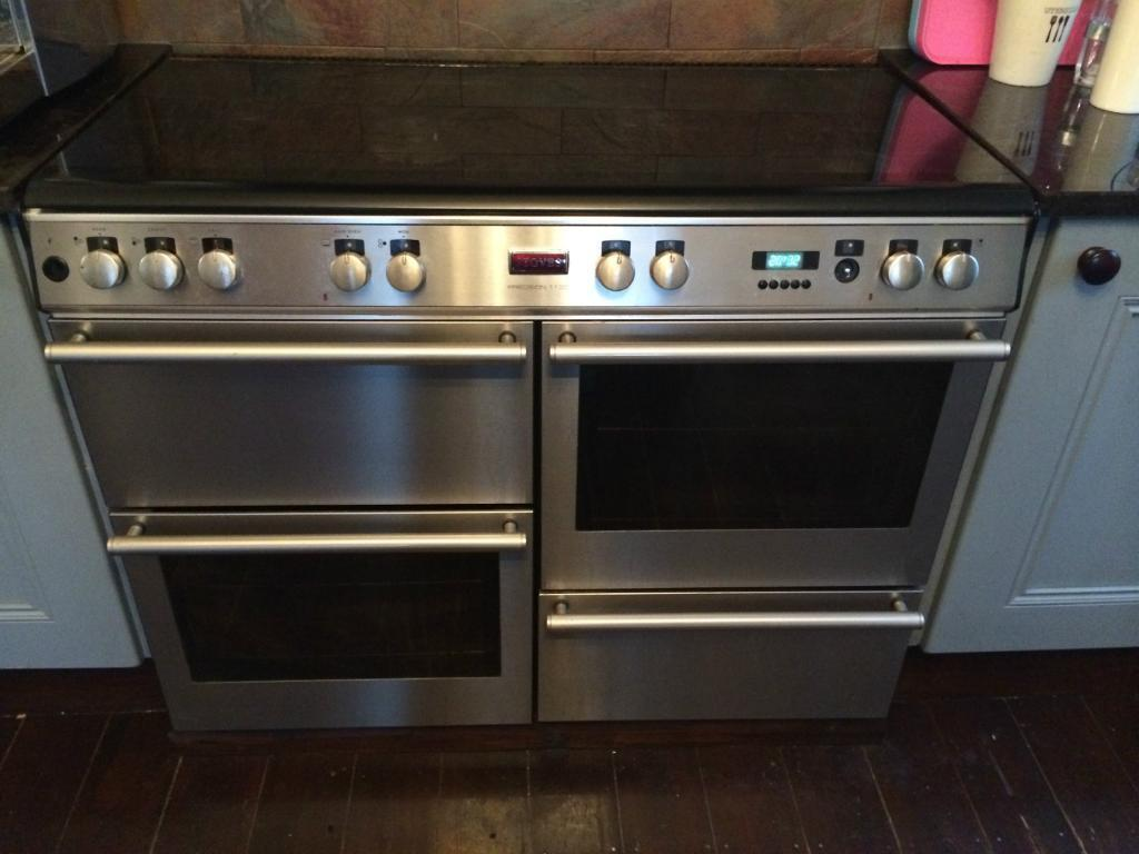 stoves precision 1100 dual fuel range cooker 163 250 00 in worthing west sussex gumtree