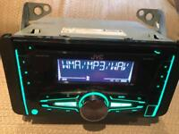 JVC CD receiver KW-R510. Car stereo