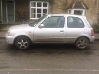 52 Plate Silver Nissan Micra - 1.4 Sport - 106,000 Miles