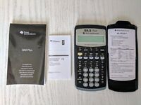 Financial business calculator (Texas Instruments BAII Plus)