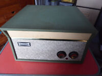 Dansette Tempo record player, approx 1963 vintage.