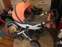 Anex sport 3 in 1 pushchair