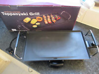 Andrew James Electric Teppanyaki Table Grill / Hot Plate 2000W