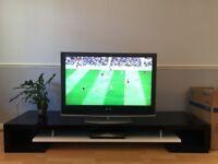 "Quatropi designer black and white TV stand/cabinet for 32""-70"" TVs"