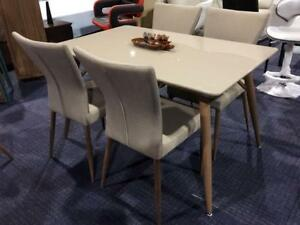 Dining Set with 4 chairs Milton (F502)