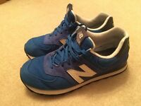 Blue New Balance 574 Trainers - Size UK 9