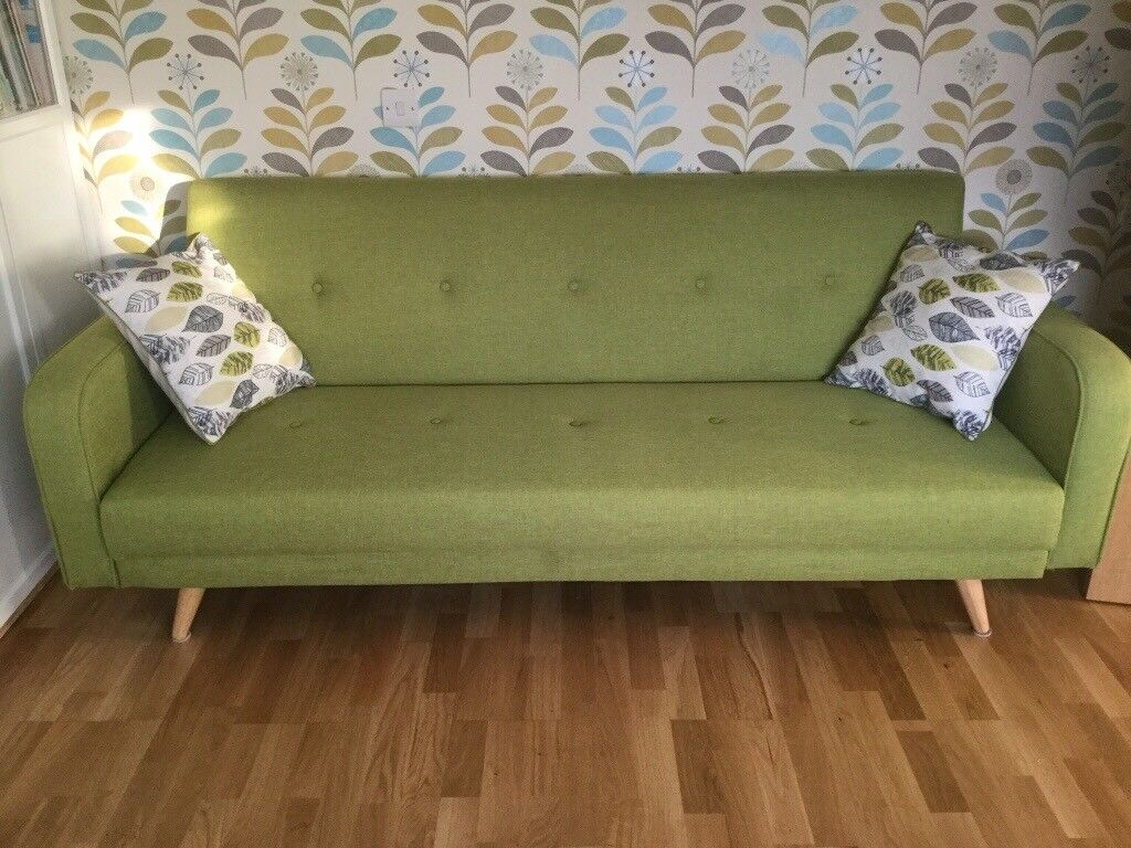 Maison Du Monde Opinioni broadway 3 seater clic clac sofa bed   in leominster, herefordshire    gumtree