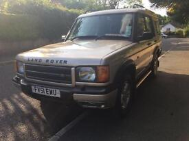 SOLD!!! Landrover Discovery 2 2.5td5 GS Station Wagon 4x4
