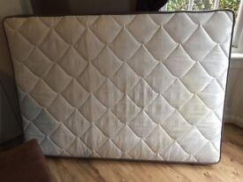 Double bed mattress (Argos)