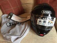 Motorbike Shoei noetec helmet brand new