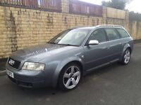 2001 Audi S6 avant 4.2 V8 quattro auto tip fully loaded stunning cheap!!!