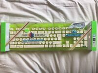 Brand New Rock Candy washable wireless keyboard