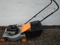 McCulloch Petrol Lawnmower with 18 inch blade......SERVICED