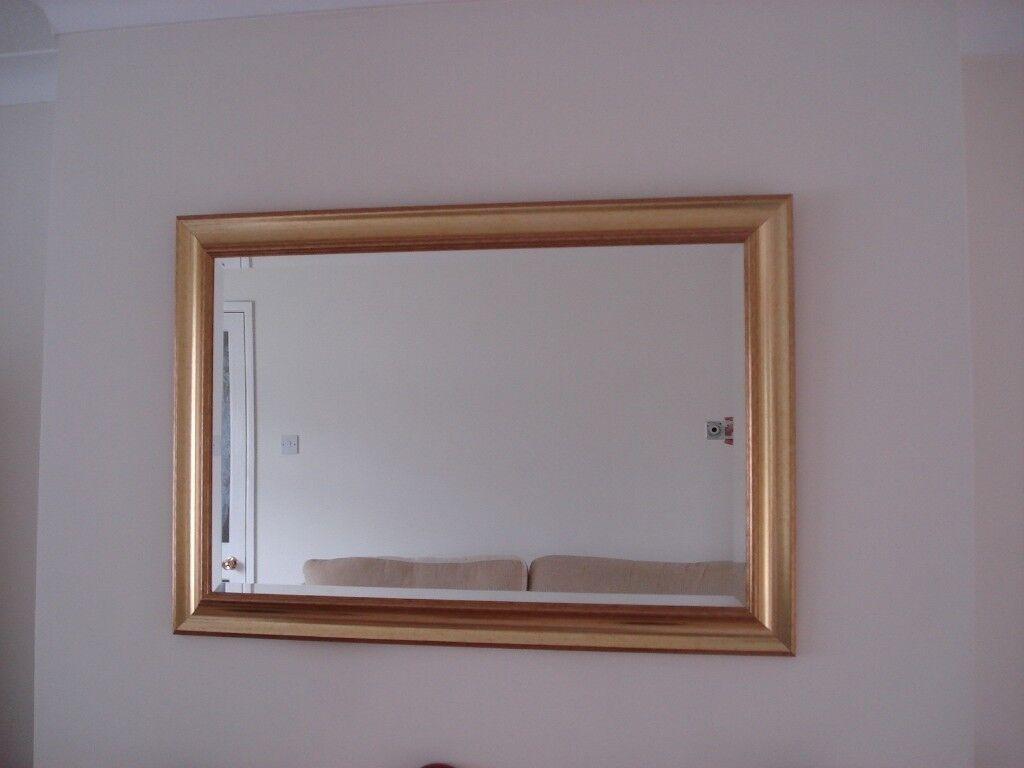 Rectangular Mirror 80 Cm X 57 Cm In Broadstone Dorset