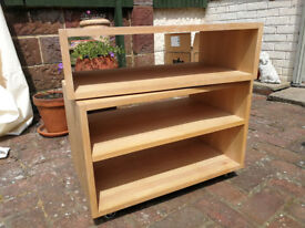 TV and DVD player stand