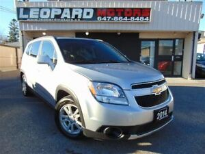 2014 Chevrolet Orlando LT, Automatic, Alloy Wheels, No Accident