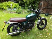 Brixton 125 cc, LOW MILEAGE