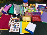 Craft Box full of goodies for children – ideal for an after school club or playgroup