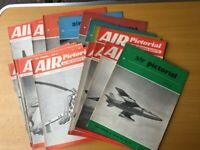VINTAGE AIR PICTORIAL MAGAZINES 1955-1958