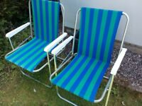 Two Garden/Camping Chairs