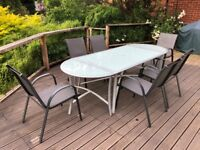 Laura Ashley Garden Furniture Used home garden items for sale gumtree glass patio table six chairs workwithnaturefo