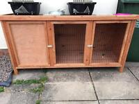 Pets at home heather rabbit hutch