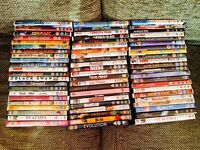 BARGAIN: DVDs x 64 (around 90% are new & perfect).
