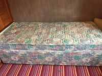 Silent night single bed with mattress