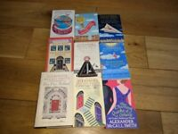 9 Alexander McCall Smith books, including Love Over Scotland 1st (first) edition hardback LS15 7HT