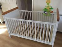 Cot and Toddler bed
