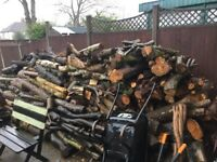 Loads of free logs for collection be quick