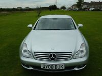 mercedes benz cls 320 cdi 2008 top spec towbar fitted excellent condition