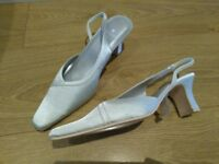 Occasion/bridesmaid slingback shoes