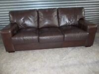 Creations Brown Leather 3-1-1 Suite (Sofa)