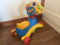 V-tech - Ride, Go, Grow car toy