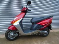 2006 honda lead scv100cc scooter 1 owner fsh moped commuter learner legal ped