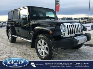 2015 Jeep Wrangler Unlimited Sahara, Nav, Leather