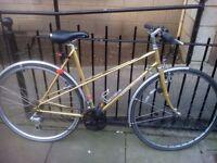 Vintage Claud Butler Bike (incl. helmet, pump, lights)