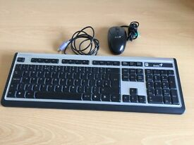 Genius Computer Keyboard & Mouse