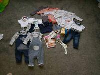 Baby boy baby bundle 3-6 months