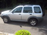 1999 LAND ROVER FREE LANDER AND CAR RECOVERY DOLLY TO GEATHER OR WILL SEPERATE