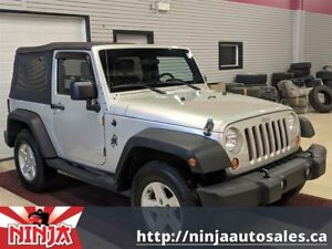 2007 Jeep Wrangler X-Cruise Control-Sound Bar-New Soft Top