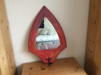 Original mirror. Designed and made by artist in Newlyn Cornwall