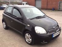 TOYOTA YARIS 1.0 PETROL COLOUR COLLECTION BLACK 5DR,HPI CLEAR,1 OWNER,REAR SPOILER,AIR CONDITION