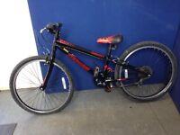 "Children's Mountain Bike - Specialised Hotrock, 7 speed, 24"" Wheels, 12"" Frame, suit 8-13yr old."