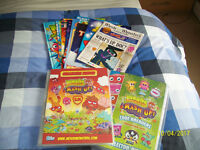 Moshi monsters collectors cards, books and magazines