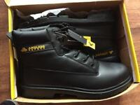 Amblers Safety boots. Brand new in box. Black. Size U.K. 14 Euro 49