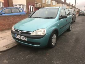 2003 vauxhall CORSA DIESEL VERY TIDY AND DRIVES SUPBER
